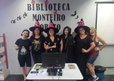 Dia das Bruxas na BML