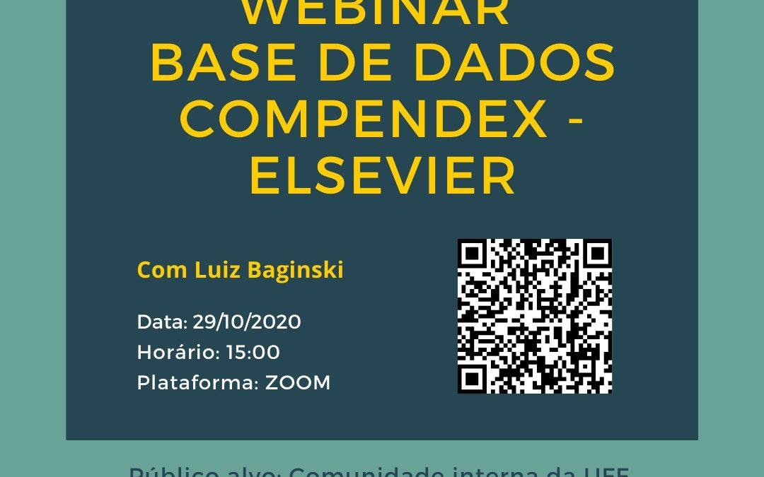 Webinar Base de Dados Compendex – Elsevier