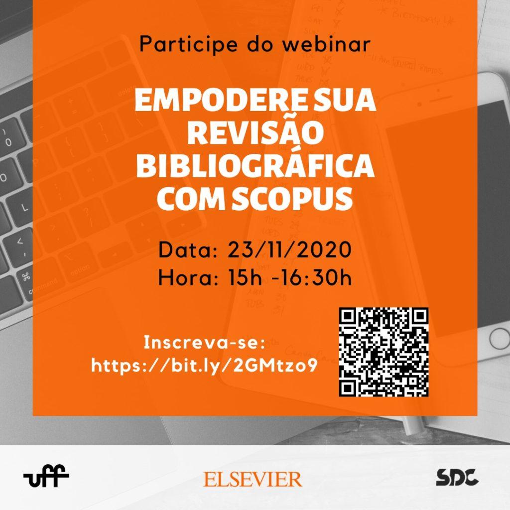 Webinar Empodere sua revisão bibliográfica com Scopus