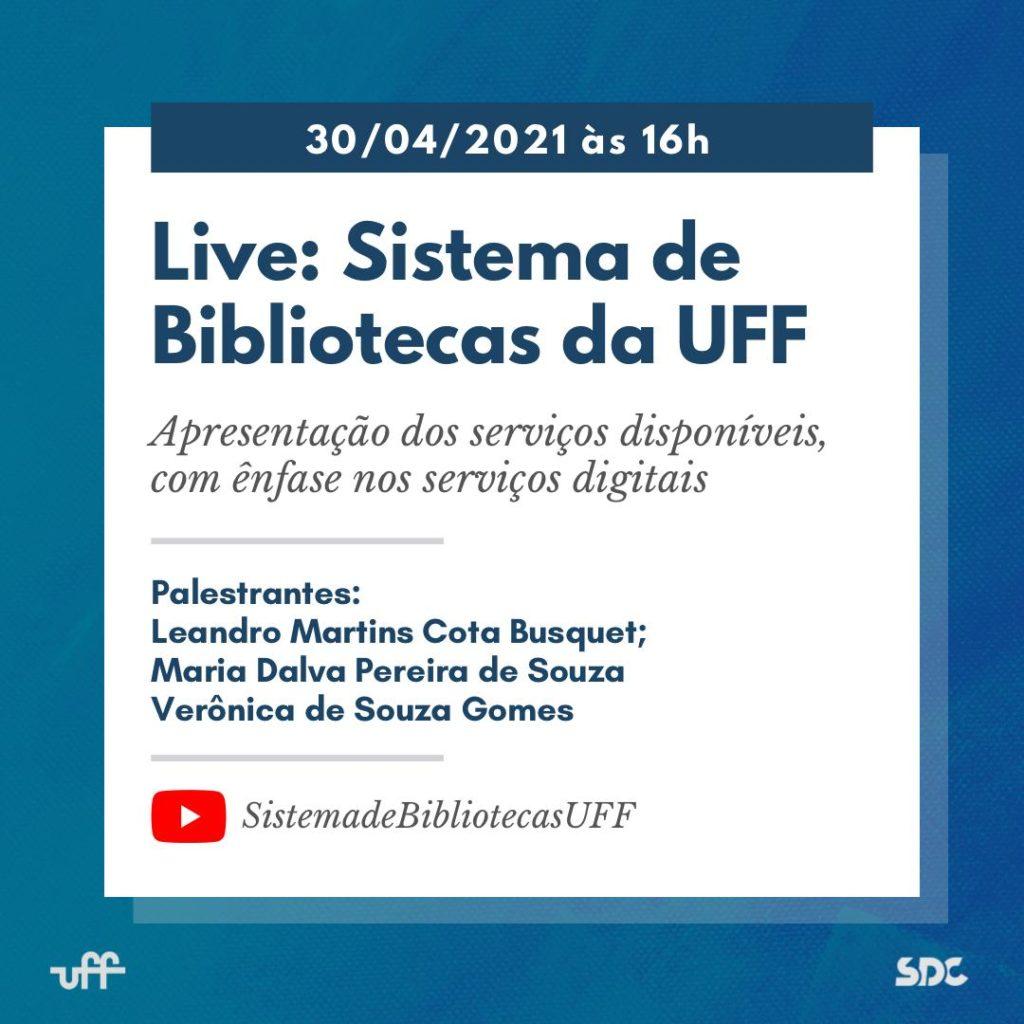 Live: Sistema de Bibliotecas da UFF