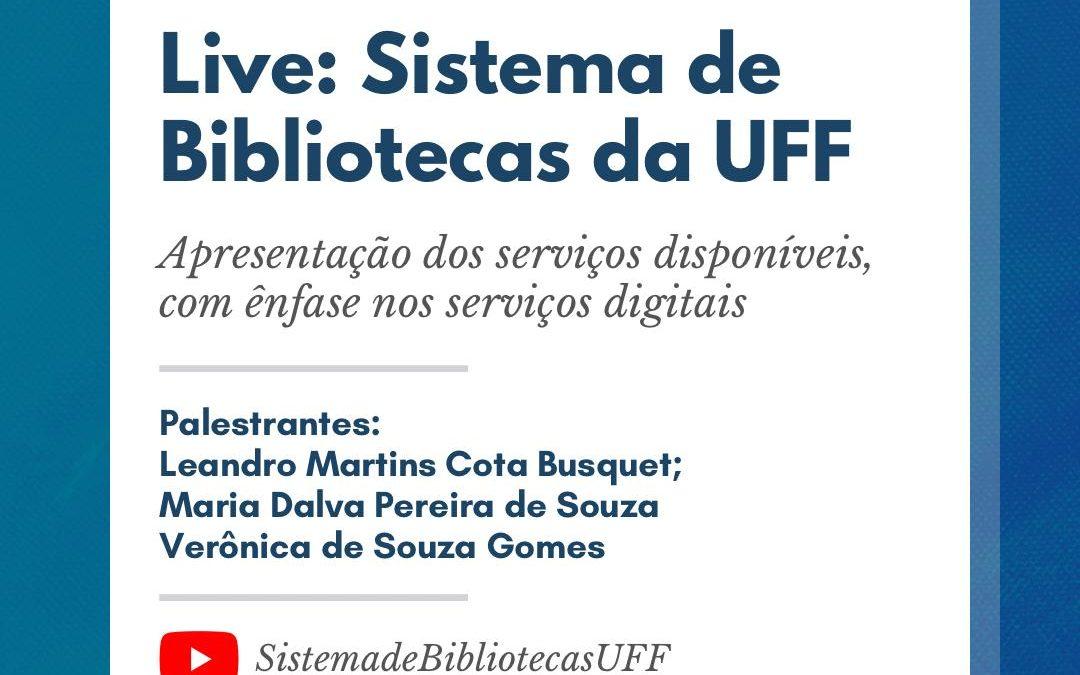 Conheça os serviços do Sistema de Bibliotecas da UFF
